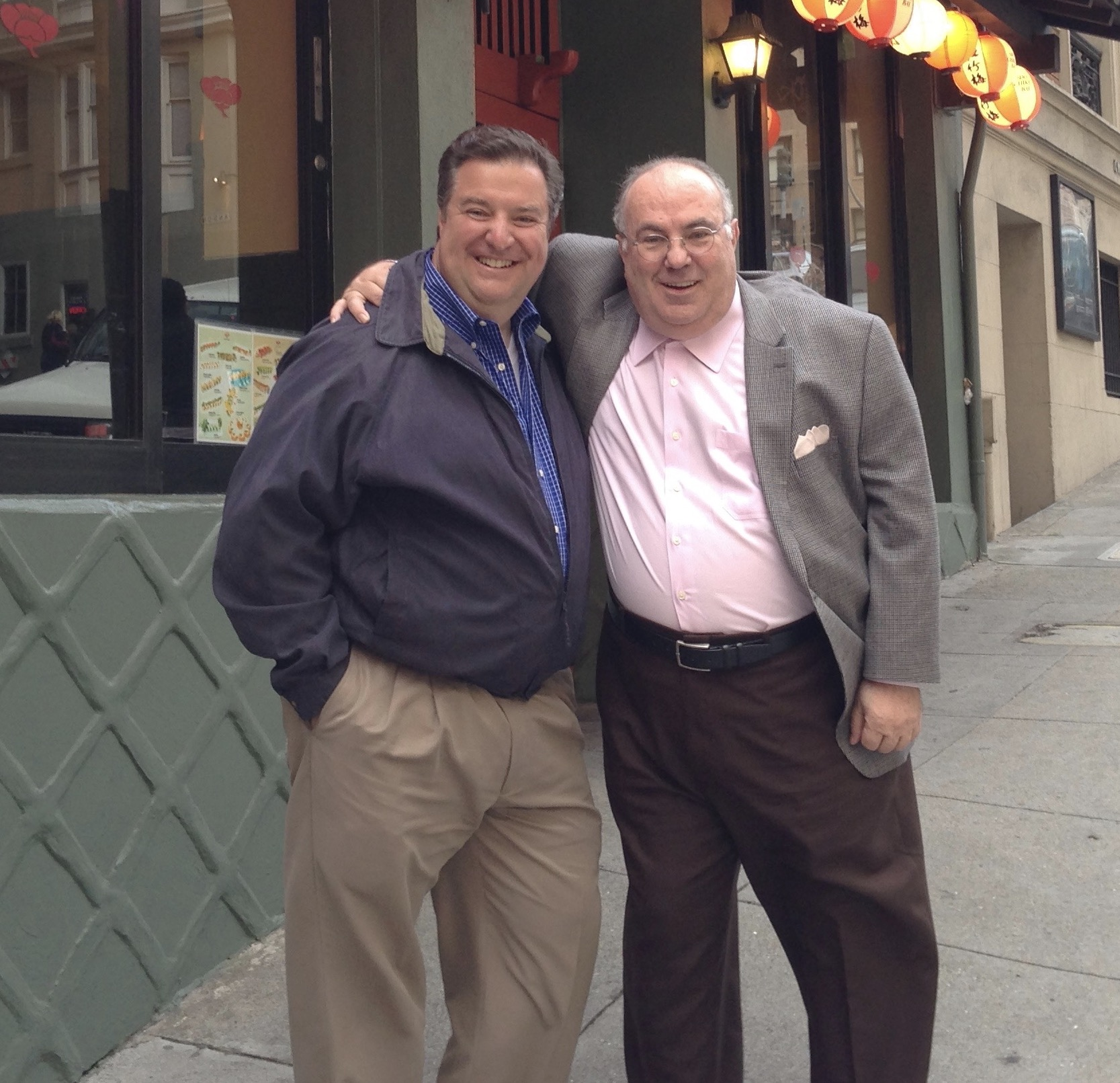 Mark Metzger & Mark Merenda (1950-2017) on the streets of San Francisco